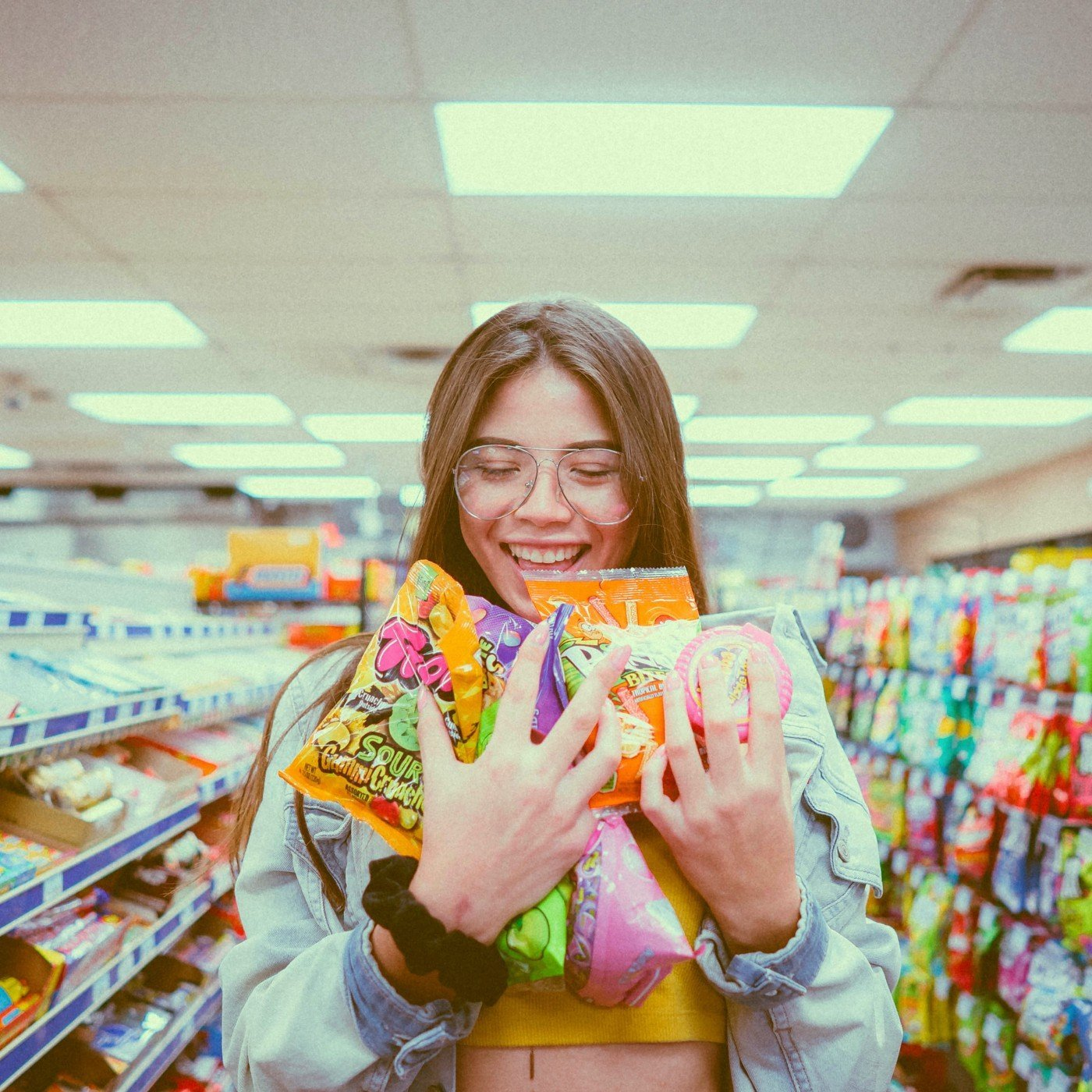 woman having a great customer experience