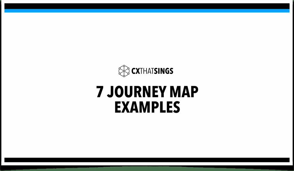 Example journey maps